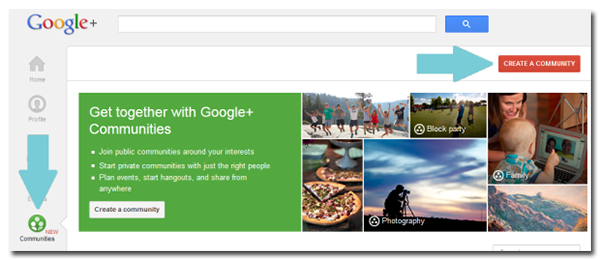 Google Communities getting started