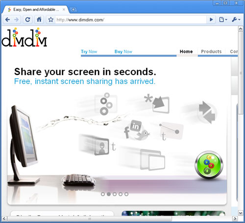 dimdim free web conferencing software to grow sales and ROI