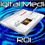 Digital Media ROI - Tablet with Internet Marketing Community on it