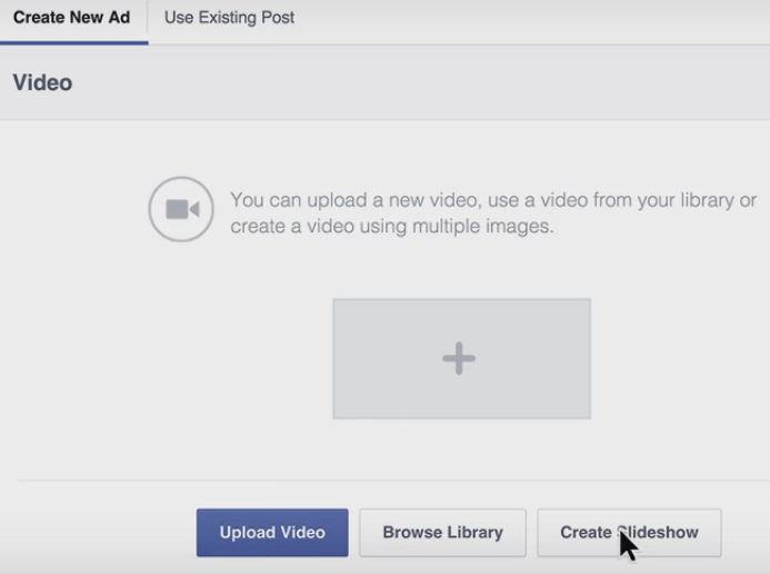How To Create A Facebook Slideshow Ad