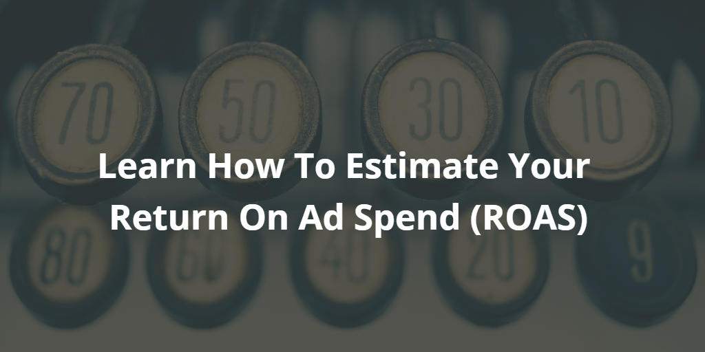 Digital Advertising ROAS Calculator