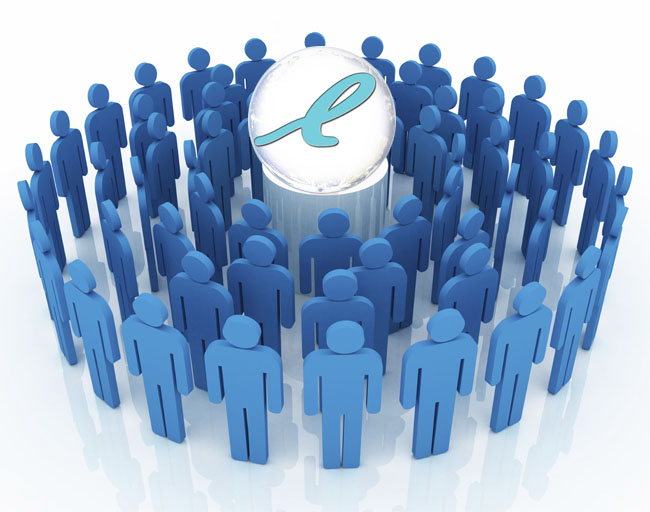 Join LinkedIn Groups that mirror your target market