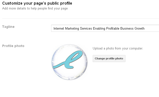 Google Plus Business Page Customize Your Pages Public Profile After