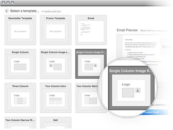 HubSpot 3 email templates