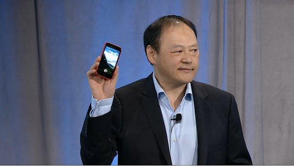 Peter Chou HTC CEO HTC First