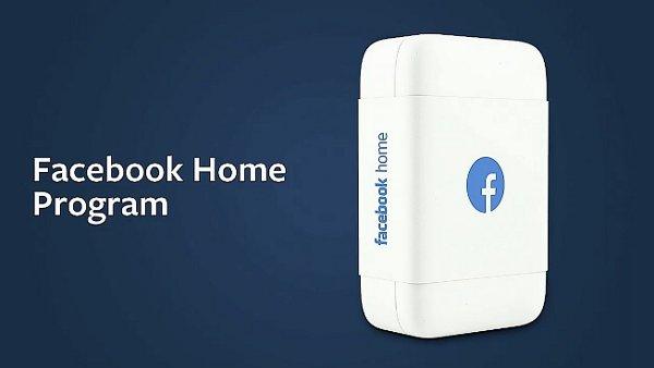 facebook home program