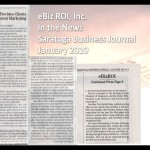 eBiz ROI, Inc. – In the News – January 2010 Issue of Saratoga Business Journal