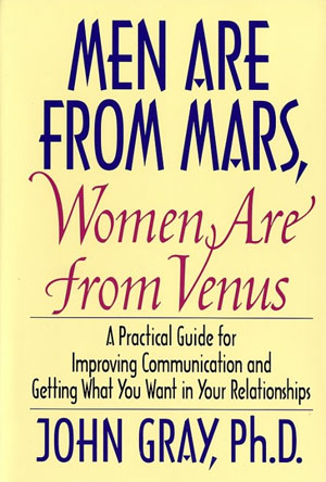 Book - Men are from Mars, Women are from Venus
