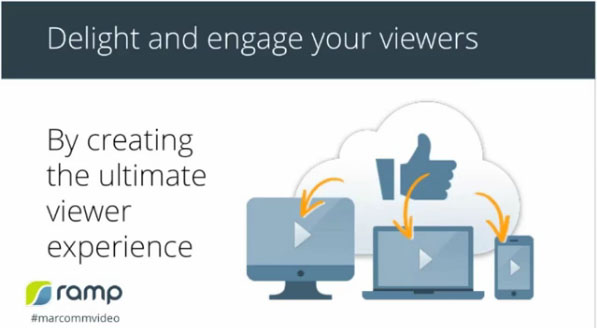 Delight and engage your viewers by creating the ultimate viewing experience.