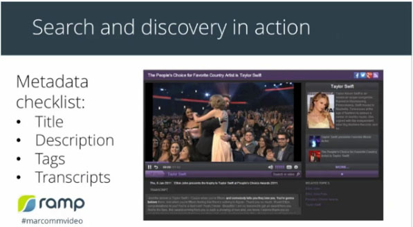 Search and Discovery in Action