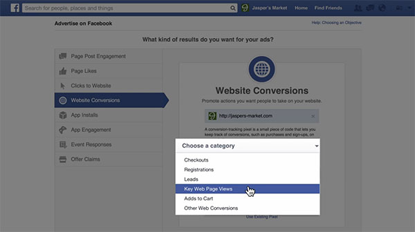 Facebook Ads Conversion Tracking installation