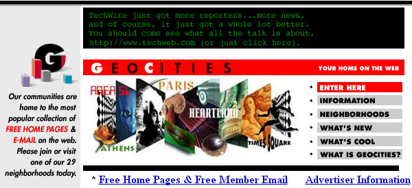 History of Search - Geocities.com