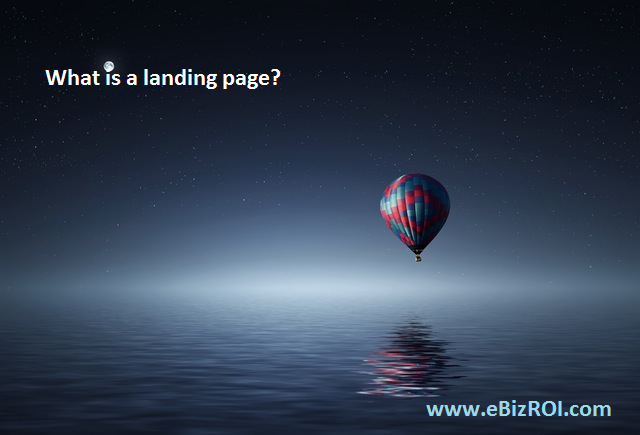 What is a landing page and why should I care?