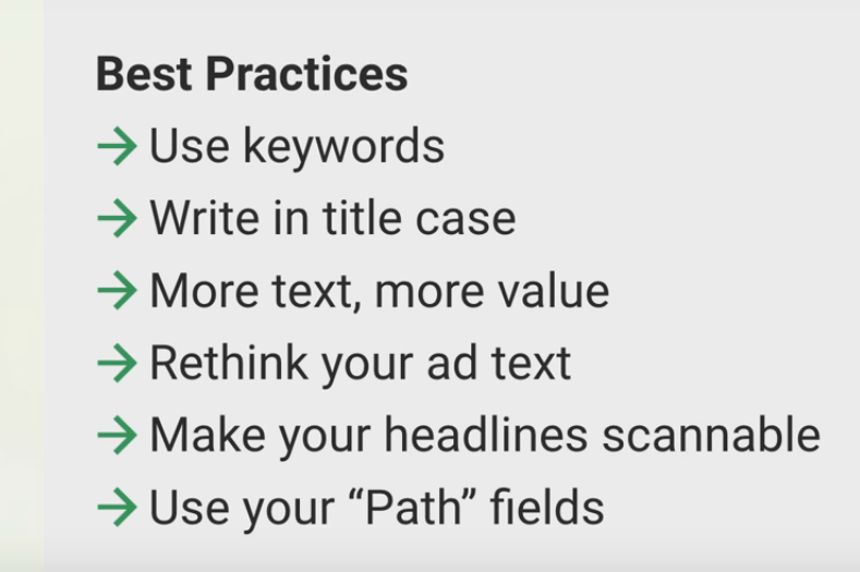 Expanded Text Ads - Best Practices