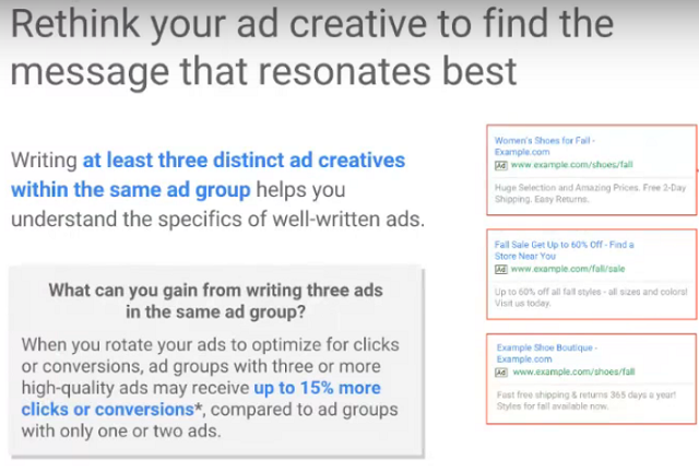 3 Keys to Search Advertising Success - Create 3 Ads for 15% More Clicks, Conversions